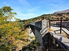 Puente de la Vía Verde en #CaminodeSantiago Mozárabe de Santiago, #Cabra #Córdoba