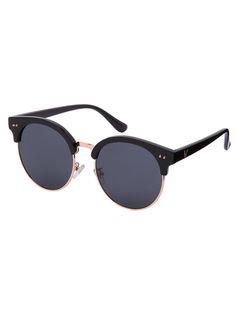 Gafas de sol redondo reflexivo