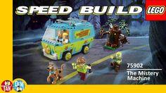 Lego Scooby Doo The Mystery Machine 75902 - Lego Speed Build