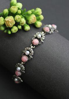 Bracelets, Jewelry, Pink Jewelry, Women Accessories, Gemstones, Rhinestones, Dirndl, Jewlery, Bijoux