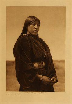 Arapaho Maiden - Edward S. Curtis