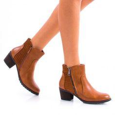 Botine Dama Akynii Camel Camel, Booty, Ankle, Shoes, Fashion, Moda, Swag, Zapatos, Wall Plug