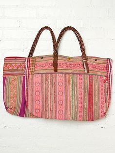Elliot Mann Lily Faded Tote~Free People