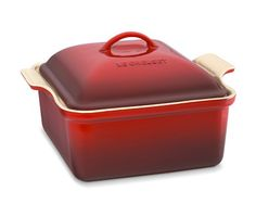 Le Creuset Heritage Stoneware Square Covered Casserole #williamssonoma