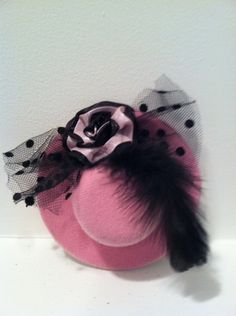 Pink  Mini Top Hat for Bachelorette party