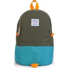 Hellolulu Pili Kids Backpack | Green/Olive