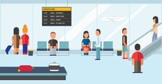 Airport Infographics on Behance