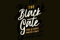 Black Gate  by Angga Mahardika on @creativemarket