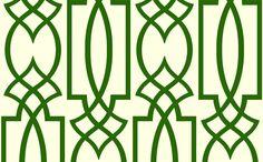 Lizette's Retro Grill Lattice Wallpaper [RTO-63054] : Designer Wallcoverings