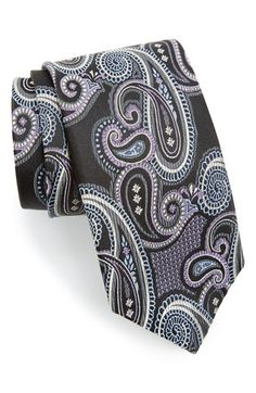Men's J.Z. Richards Silk Paisley Tie