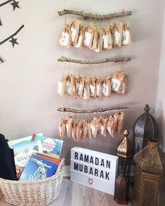 Ramadan Advent Calendar, DIY Advent Calendar, 30 days, NillyDahlia Muslim Parenting Vlogger