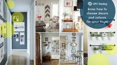 Want to decorate the foyer part of your home with a good choice of colours, fittings an fixtures? Readout this content for some great inspirations. Painters, Foyer, Gallery Wall, Colours, Content, Frame, Inspiration, Home Decor, Picture Frame