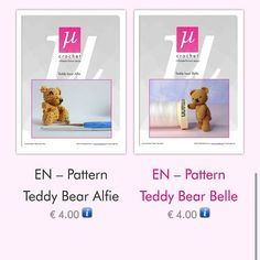 Finally finished my pdf for #teddybear belle. #amigurumi #pattern by micro_crochet