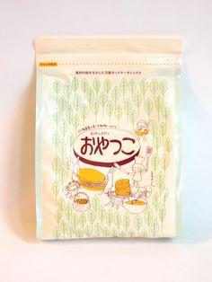 岐阜のおやつ職人まっちんプロデュースのホットケーキミックス『おやつこ』something tasty, crackers perhaps? PD