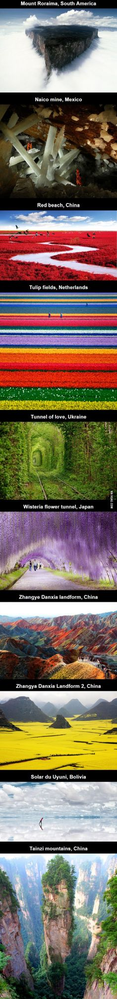 10 places that don't look real