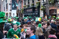 Be there for the event  St Patrick's Festival: tips for celebrating the patron saint of Ireland in Dublin