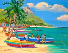 """Shari Erickson - """"Boatmen"""""""