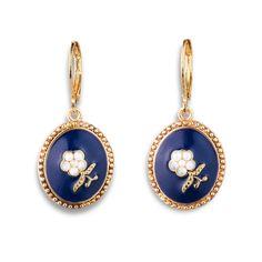 American Floral Earrings