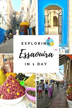 Squeezing the best of Essaouira, Morocco, into 1 day is possible, and this post is all about the best sights to see!