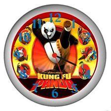 New Kung Fu Panda Wall Decor Clock