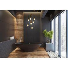 Bathroom Spa, Master Bathroom, Bathroom Ideas, Shiplap Bathroom, Neutral Bathroom, Bathroom Black, Bathroom Cleaning, Bathroom Organization, Bathroom Baseboard