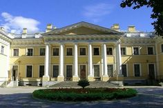 Kamennoostrovsky Palace on Kamenniy Island in St Petersburg, Russia - built by Catherine the Great for her son Paul