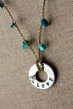 ILY necklace made by Deaf in Honduras, $15.00, via Etsy.  This is so sweet!  I've been looking for an ASL piece for showing that I know Sign and can help interpret on a low level.