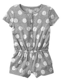 Bought this for Sophie, can't wait for her to wear it!! Printed romper // Baby Gap