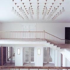 Festspielhaus hellerau III by Candida Höfer Art Gallery, Stairs, Italy, Architecture, Rooms, Home Decor, House, Arquitetura, Bedrooms