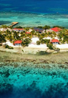 Hatchet Caye, Belize  =  Date night for 4th of July :)