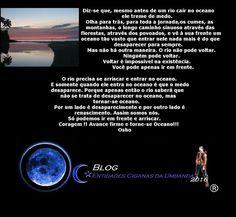 Entidades Ciganas da Umbanda (Clique Aqui) para entrar.: O RIO E O MAR, POR OSHO