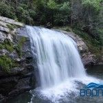 Compression Falls (Twisting Falls or Twisted Falls) Compression Falls is a popular waterfall/swimming hole with one of the best water slides around. Think 30-40ft ...