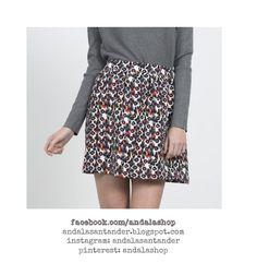 Falda print animal. Cintura elástica 29.90 €