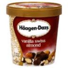 I'm learning all about Haagen Dazs Ice Cream All Natural Vanilla Swiss Almond at @Influenster!