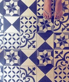 This week's #regram is for this blue  #tuttifruttiles by @layasmeen! Thanks for spreading the #TileAddiction by tileaddiction