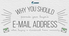 Why You Should Provide Your Buyer's Email Address to Their Home Warranty Company Home Warranty Companies, Home Selling Tips, Real Estate Tips, First Home, Email Address, Home Buying, Life, Starter Home, Custom Homes