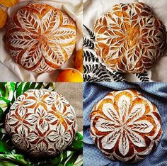 - Best ideas for decoration and makeup - Artisan Bread Recipes, Sourdough Recipes, Sourdough Bread, Bread Shaping, Bread Art, Quick Vegetarian Meals, How To Make Bread, Creative Food, Cooking Recipes