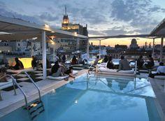 Oscar room mate hotel terrace :-)