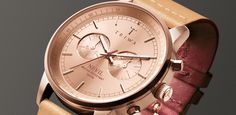 rose tan nevil - triwa watches.  Funny how most things I like are Scandinavian!