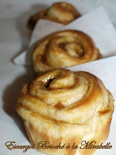 Escargot brioché à la mirabelle - Dans vos assiettes