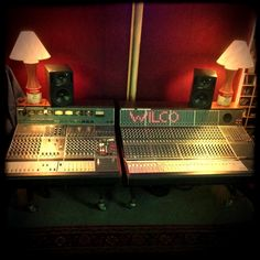 New Neve console up and ready to make magic at the Loft. Well, not new -- just new to us.