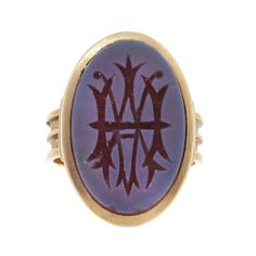 antique carnelian signet ring - Google Search