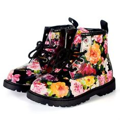 NWT Spring Gymboree Growing Flowers Rain Boots Floral 9,10,1,3