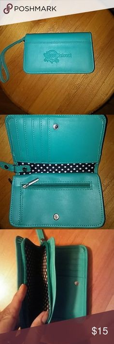Gemline Retreat Wallet Brand new never used. Beautiful turquoise color plenty of places for cards etc. Gemline Other
