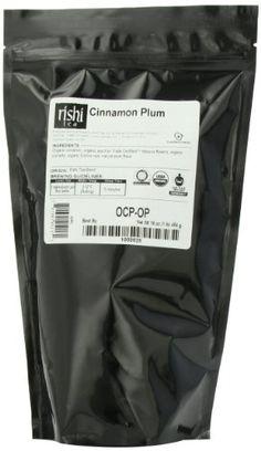 Rishi Tea Organic, Cinnamon Plum, 1-Pound *** Want additional info? Click on the image.