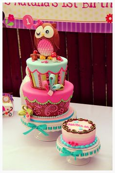 love this owl cake!