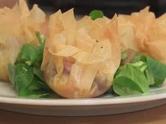 How to make your own filo pastry scrunchies