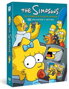 The Simpsons - Season 8 [DVD]: Amazon.co.uk: Dan Castellaneta, Julie Kavner, Nancy Cartwright, Yeardley Smith, Harry Shearer, Hank Azaria: DVD & Blu-ray