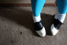 #saddleshoes Cheerleading Shoes, Tap Shoes, Dance Shoes, Saddle Oxfords, Good Old, Character Shoes, Balenciaga, Converse, Cute Outfits