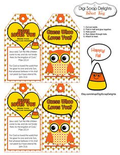 Free #printable cards with a message and scripture to hand ...